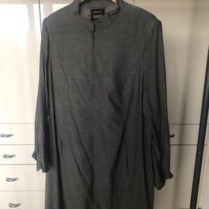 Akris Bergdorf Goodman Zip-Up Dress